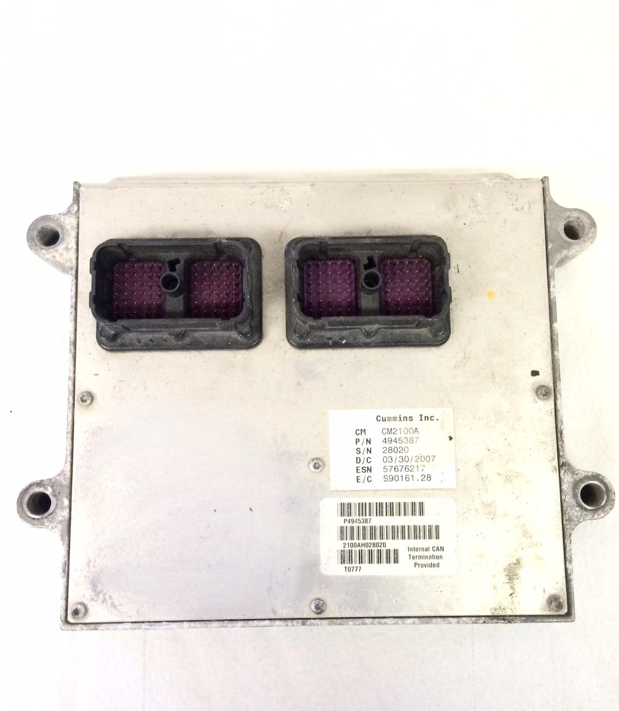 Cummins 5 9L ECM Dual Plug