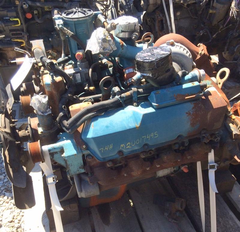 Power Stroke Engine >> Ford 7 3l Powerstroke Engine