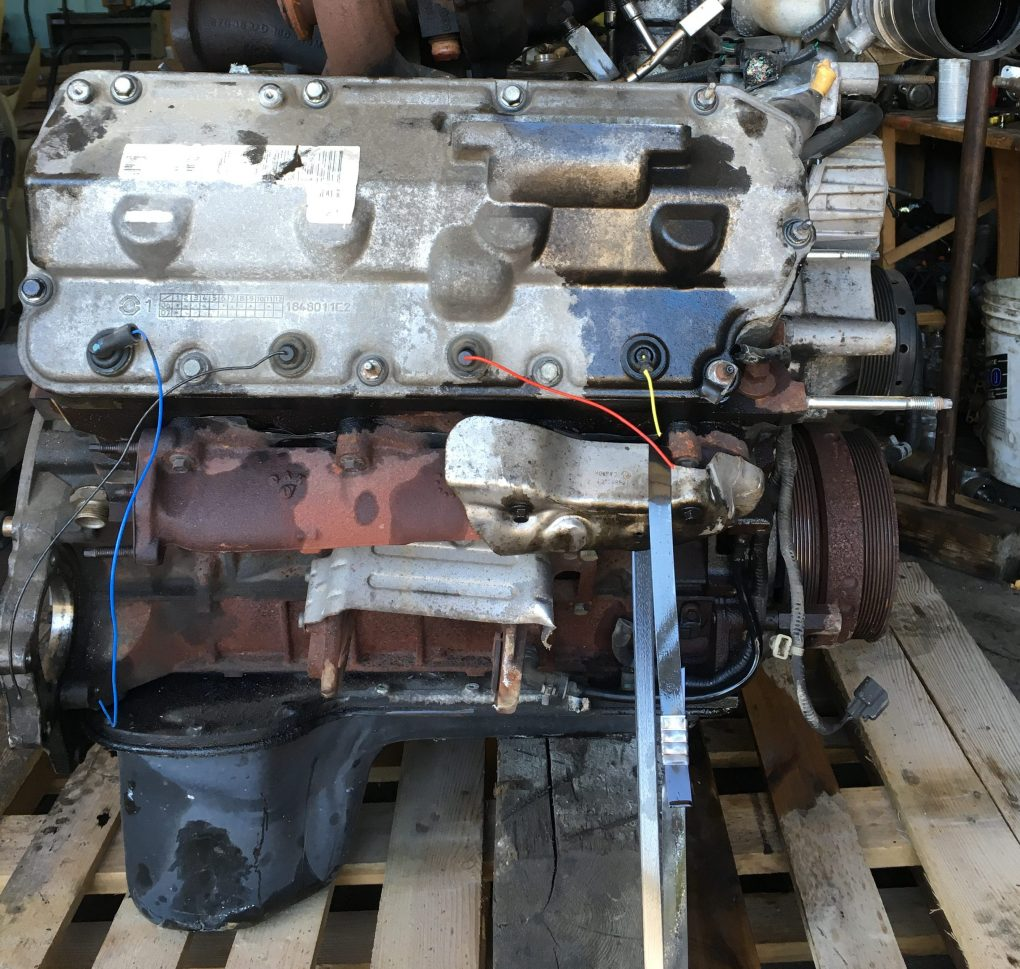 Ford 6 4l Powerstroke Engine Long Block